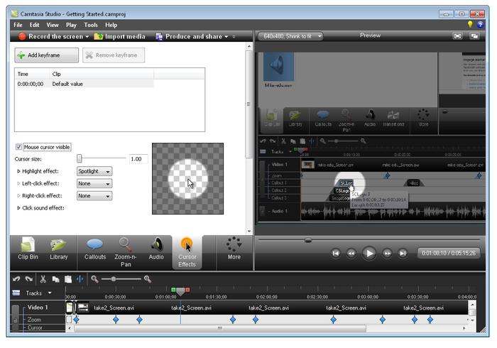 ج2: شرح بالفيديو وتحميل برنامج تحرير وصناعة وإنشاء الفيديوهات الاحترافي Camtasia Studio 8