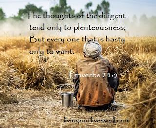 Proverbs 21:5