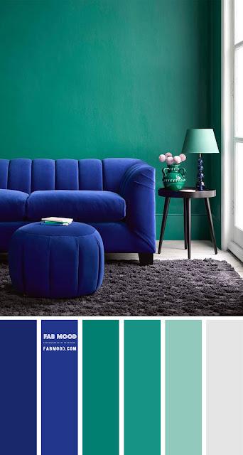 cores com azul