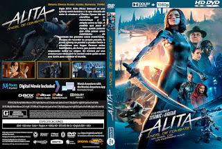 CARATULA ESPAÑOL: ALITA ANGEL DE COMBATE - ALITA BATTLE ANGEL - 2019