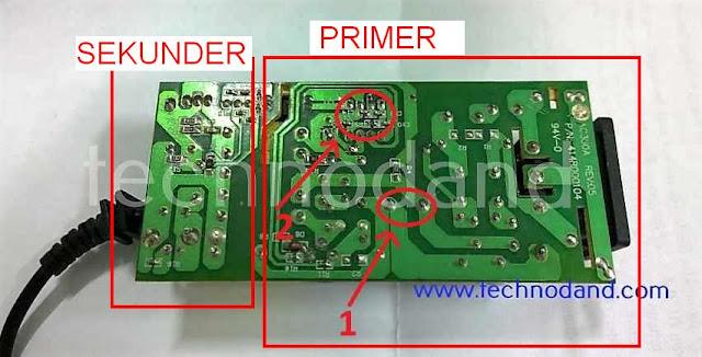 bagian primer dan sekunder adaptor