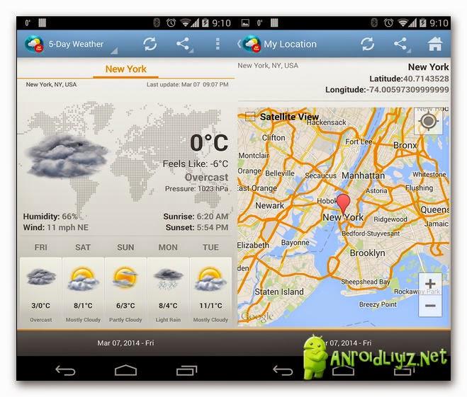 Weather & Clock Widget v2 5 3 5 Full APK | Androidliyiz net
