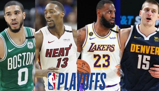 Celtics, Heat, Lakers y Nuggets, últimos supervivientes de la burbuja NBA