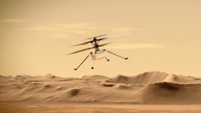 Red Planet Helicopter Revives Ingenuity Long Flight