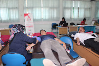 Blood Donation in the Context of Alumni Service at SMAN 110
