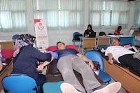 Donor Darah dalam Rangka Bakti Alumni di SMAN 110