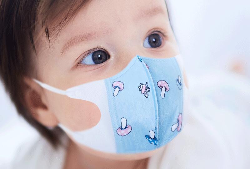 Küçük çocuklara maske yapılabilir
