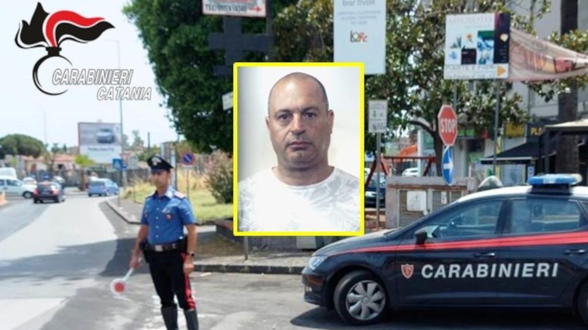 Arresto affiliato clan Laudani mussi i ficurinia Carabinieri operazione Vicerè
