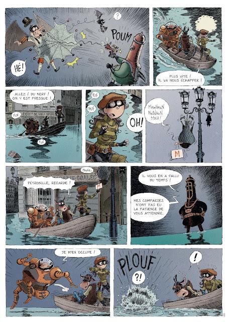 Une aventure des spectaculaires tome 3 éditions Rue de Sèvres Page 17