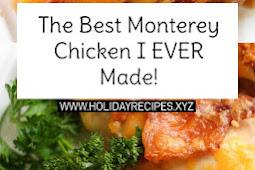 The Best Monterey Chicken Recipe I EVER Made!