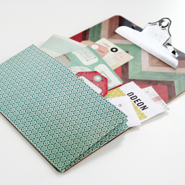 Diy Expandable Pocket Clipboard Gathering Beauty