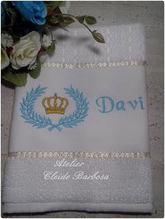 toalha escolar personalizada