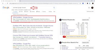 Cara Pasang dan Gunakan VPN Google Chrome di Laptop