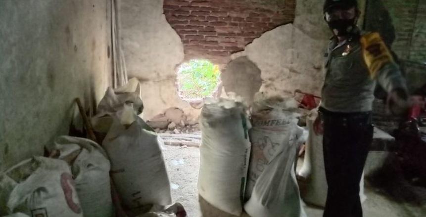 Gudang Penggilingan Padi di Kutasari Dibobol Maling, 9 Kuintal Beras Raib