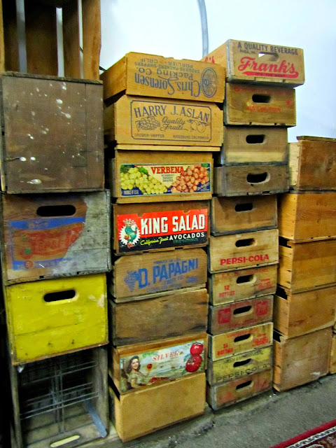 Crates at Something Borrowed Vintage Rental, Portland,  O