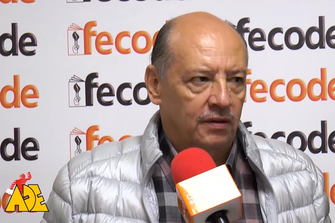 Carlos Rivas presidente de FECODE envía Mensaje a la comunidad educativa frente al paro