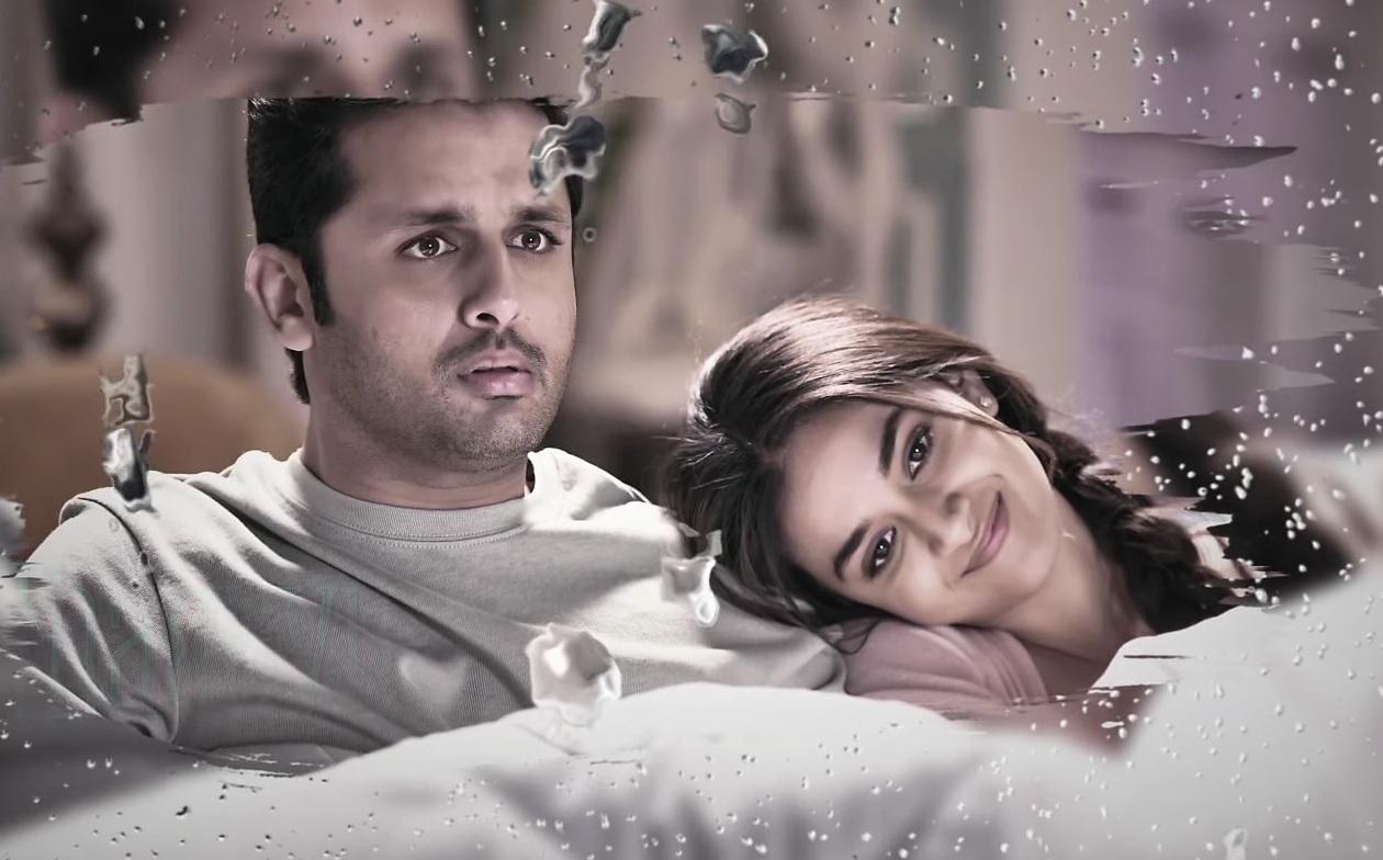 Keerthy Suresh Lovely Smile with Nithiin from RangDe