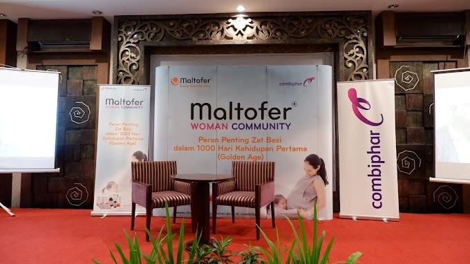 Maltofer Woman Community Semarang : Pentingnya Zat Besi pada 1000 Hari Pertama Kehidupan
