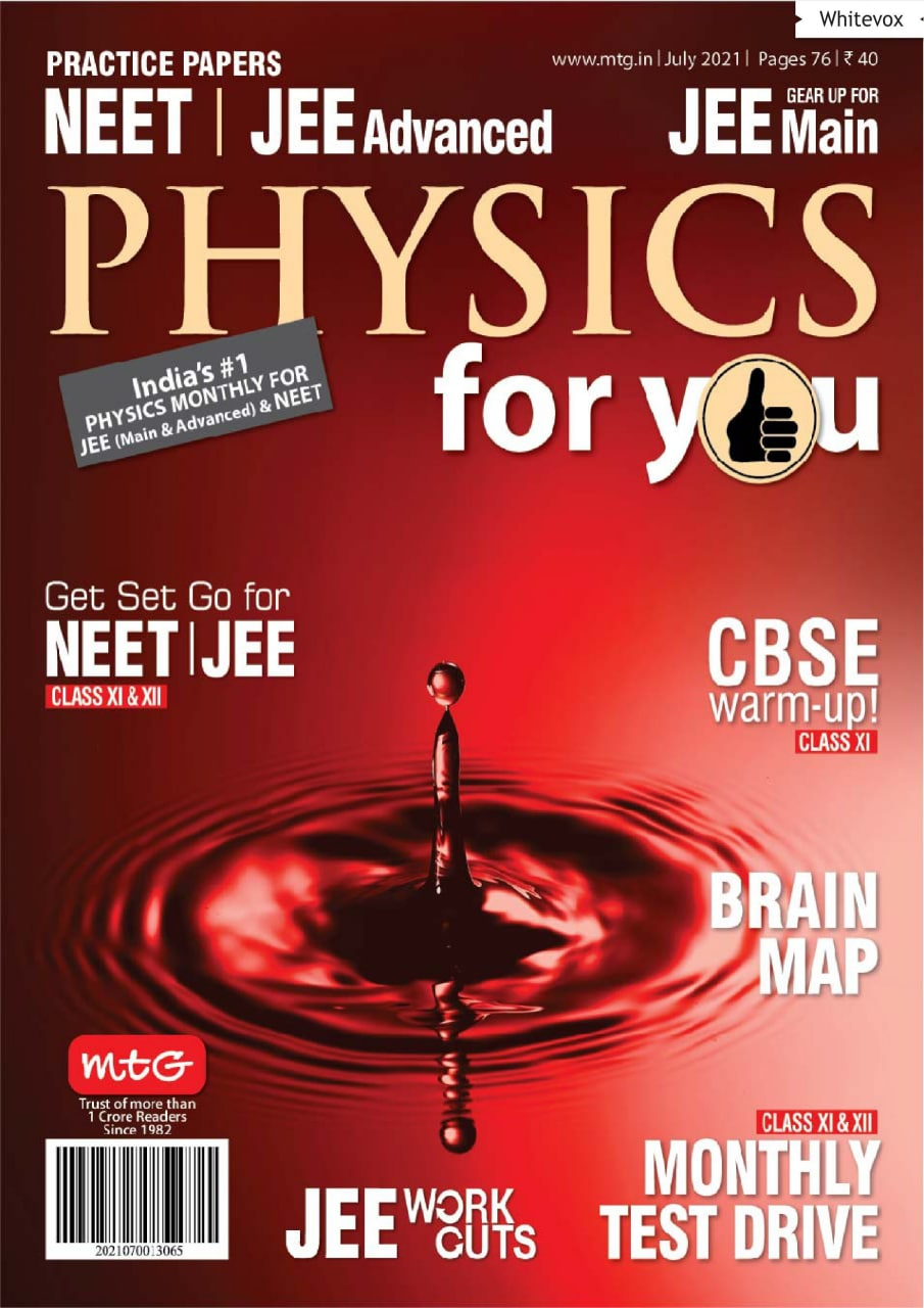 Physics for you magazine july 2021 PDF download free