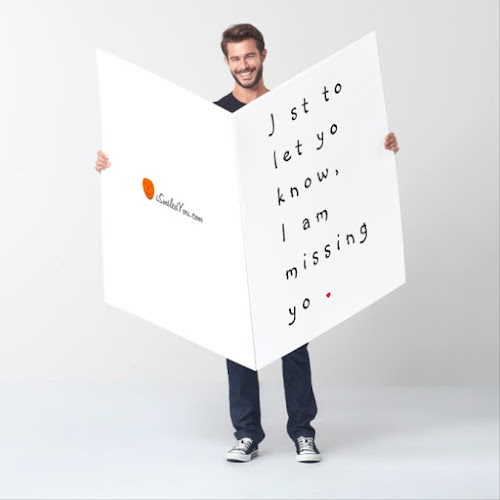 Just To Let You Know   Funny Missing You Card
