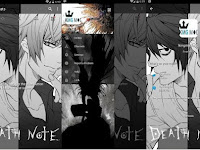 BBM MOD ANIME Death Note v3.0.1.25 Apk Full Features Clone / Unclone Terbaru