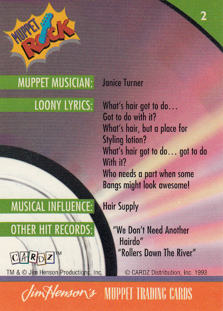 Can't Have Too Many Cards: Muppet Mondays: Music