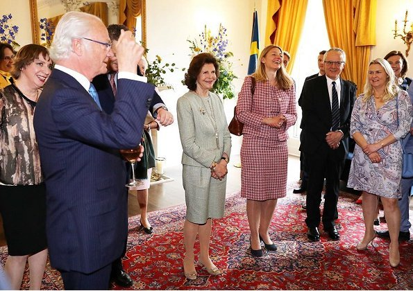 State visit to Ireland upon the invitation of President Michael D Higgins. The King and Queen visited the Ireland's Gold exhibition