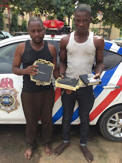 It Takes Me 4 Minutes To Steal Vehicles Brain Boxes..Suspect Arrested By RRS In Lagos