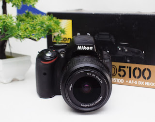 Jual Nikon D5100 Fullset Second