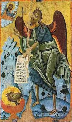 Ο Άγιος Ιωάννης ο Πρόδρομος. Εικόνα 17ου αι.