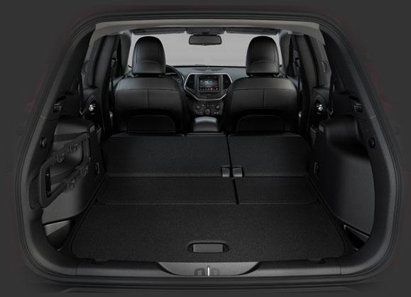 dimensioni bagagliaio jeep cherokee