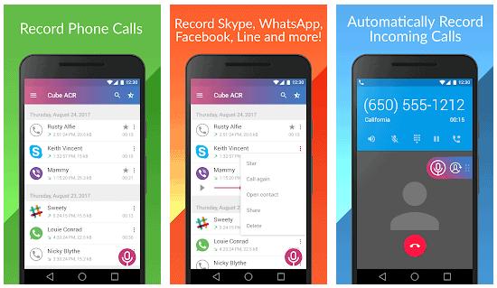 شرح تسجيل مكالمة واتس اب WhatsApp على اندرويد و ايفون