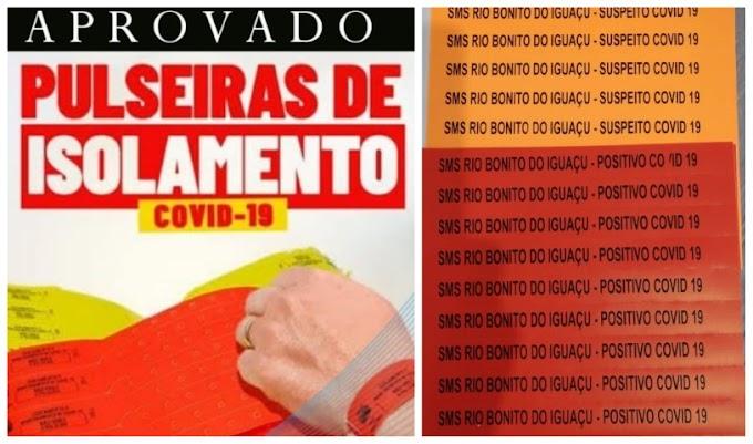 Câmara em ação: Vereadores de Rio Bonito do Iguaçu solicitam à Saúde pulseiras para controle de infectados da Covid-19