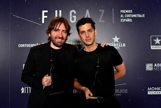 Premios Fugaz 2019, Ganadores, Daniel Sánchez Arévalo, Eduardo Casanovas