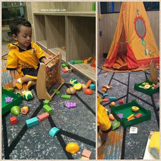 bermain di kids corner fasilitas ibis styles medan