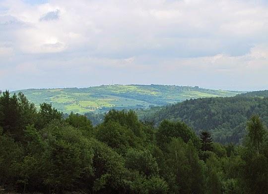 Wzgórze Franków (534 m n.p.m.).
