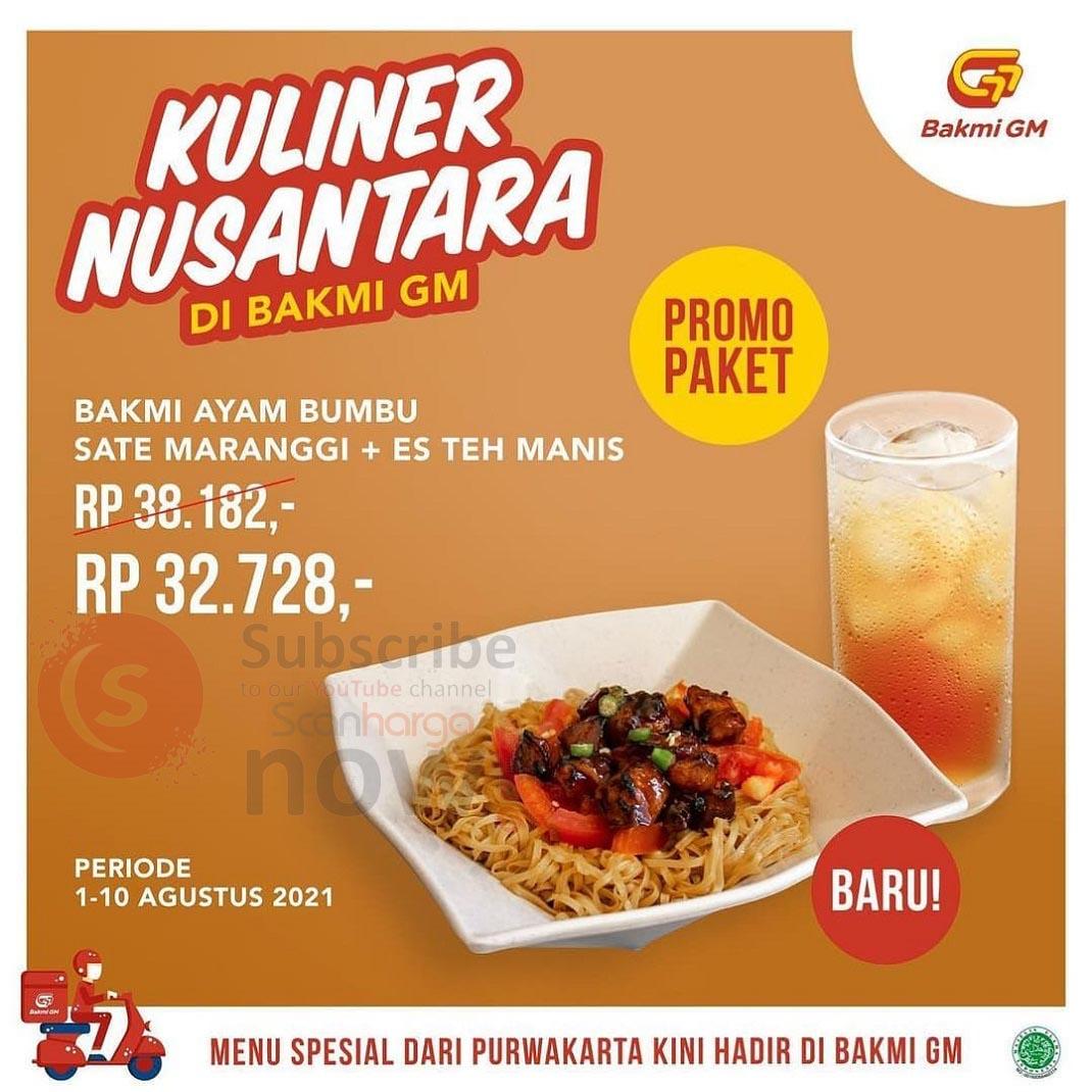 BAKMI GM Promo Paket Kuliner Nusantara harga hanya 30 Ribua-an*