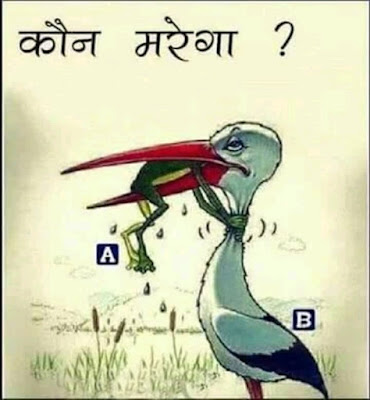 Picture Riddles With Answers: Kaun Marega A ya B ?