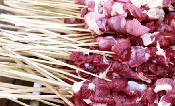 Resep membuat sate daging kambing empuk