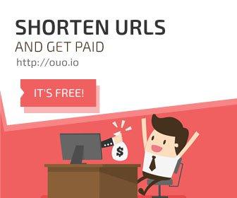 Shorten URLs and earn big money