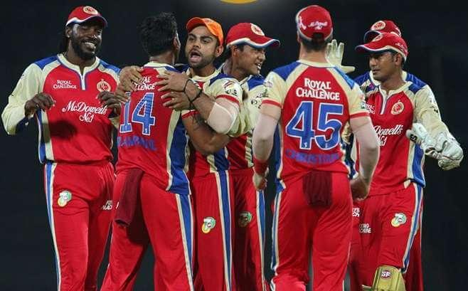 Royal Challenger Bangalore Team Squad 2017