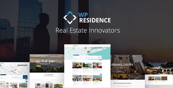 WP Residence v2.0.0 - Real Estate WordPress Theme