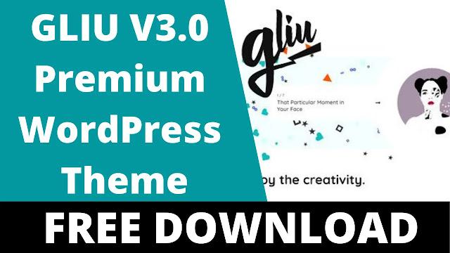 Gliu-v3.0-Enjoy-The-Creativity-WP-Theme