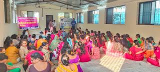 उमंग उत्सव ट्रस्ट द्वारा महिला जागरूकता कार्यक्रम का आयोजन   #NayaSaberaNetwork