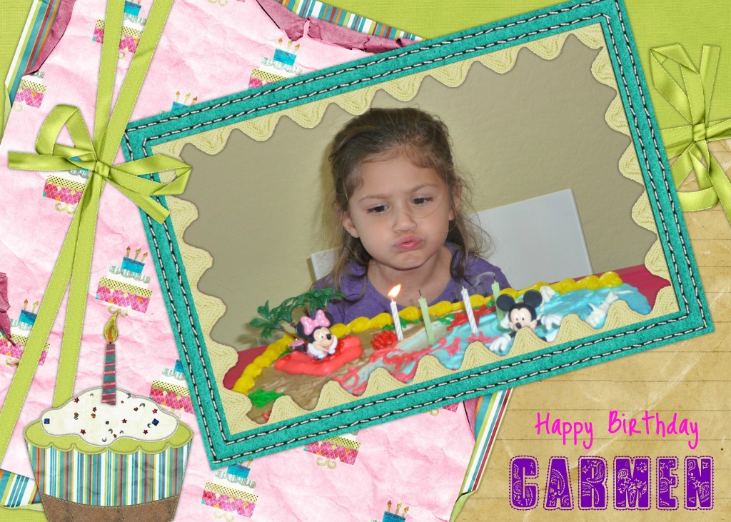 The casillas family go gianni and happy birthday carmen - Happy birthday carmen images ...