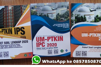 LENGKAP Download SOAL UM PTKIN 2020 IPS &IPA Plus Prediksi SOAL UM PTKIN 2020