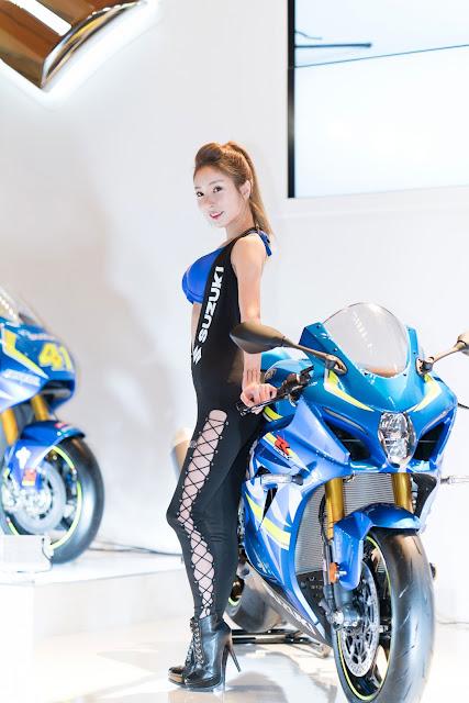5 Jung Jung Ah Seoul Motor Cycle Show - very cute asian girl-girlcute4u.blogspot.com