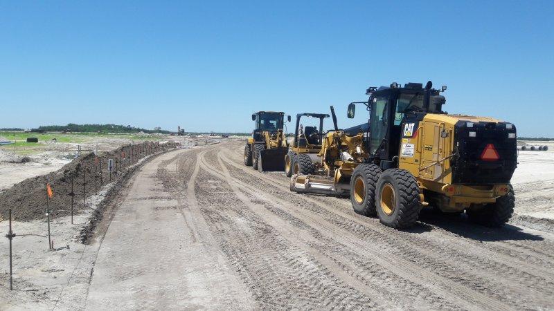 Road Construction, Viera West