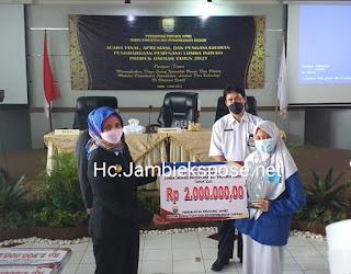Pj Gubernur Jambi Menghadiri Pemenang Lomba Inovasi Produk Daerah
