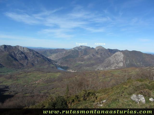 Vista del Triguero y la Xamoca